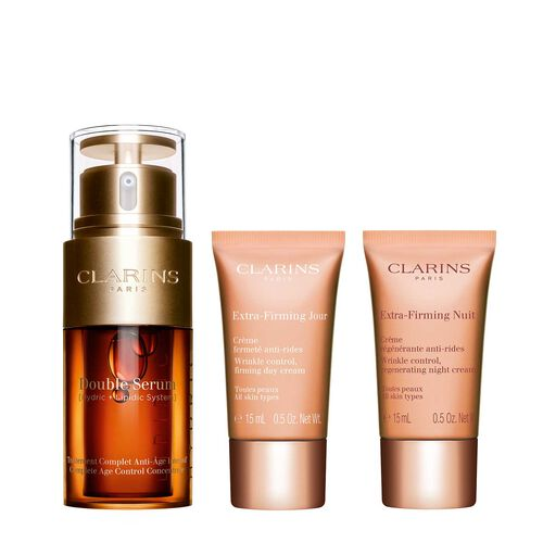 Double Serum & Extra-Firming anti-aging routine