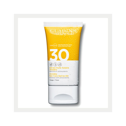Invisible Gel-to-Oil Facial Sun Care UVA/UVB 30