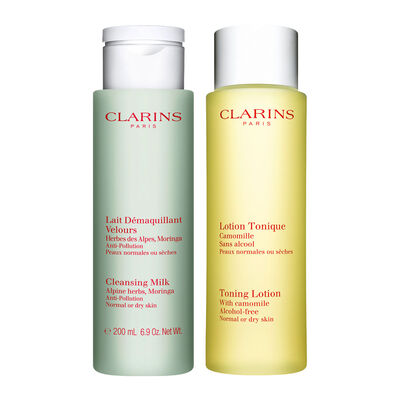 Cleansing Duo for Normal to Dry Skin