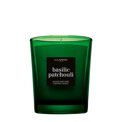 Basil Patchouli Scented Candle
