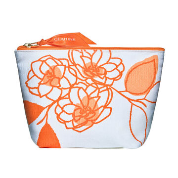 Orange Travel Pouch
