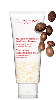 Clarins hair mask