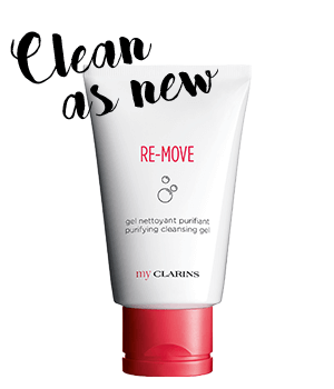 RE-MOVE Cleansing Gel  Effectively