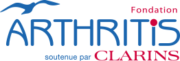 Fondation Arthritis proudly supported by Clarins