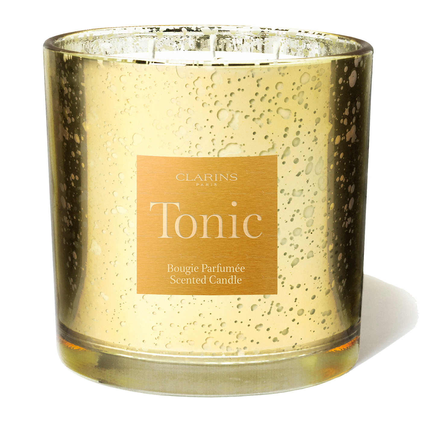 tonic scented candle bath shower clarins tonic scented candle
