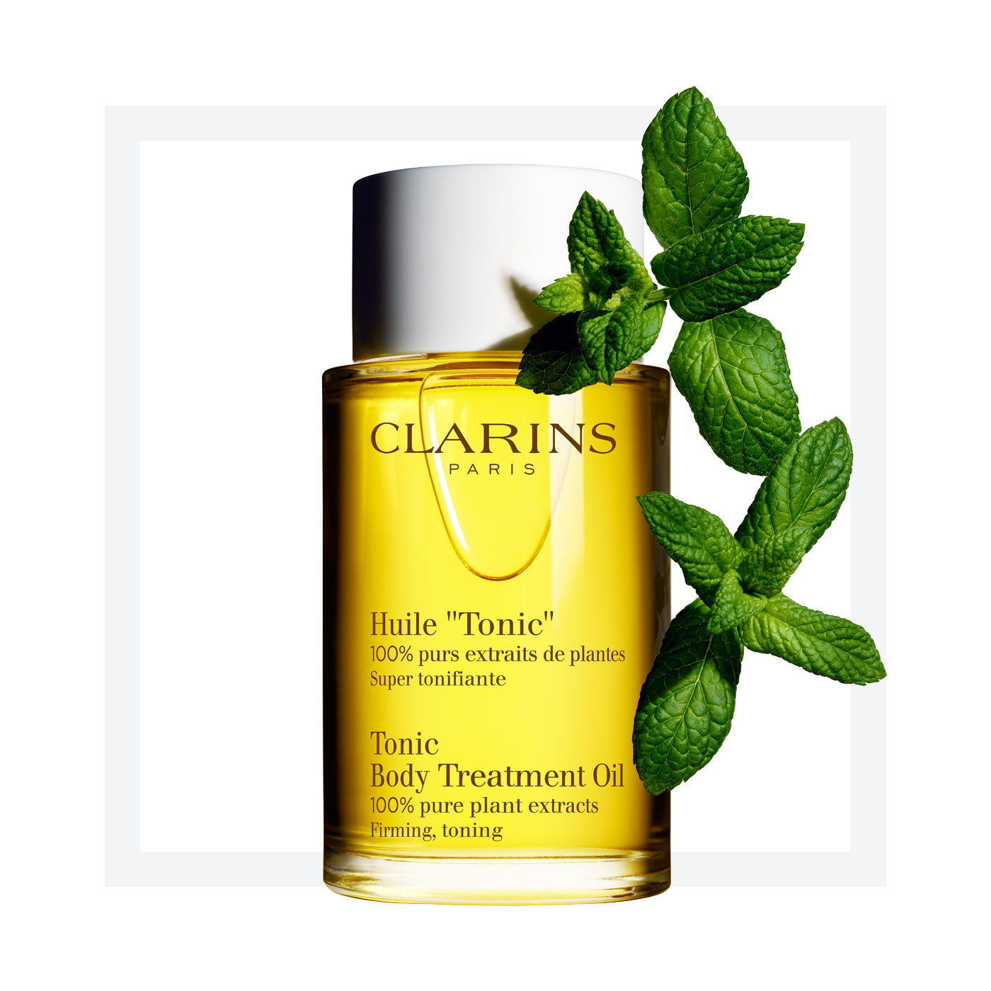 clarins body oil