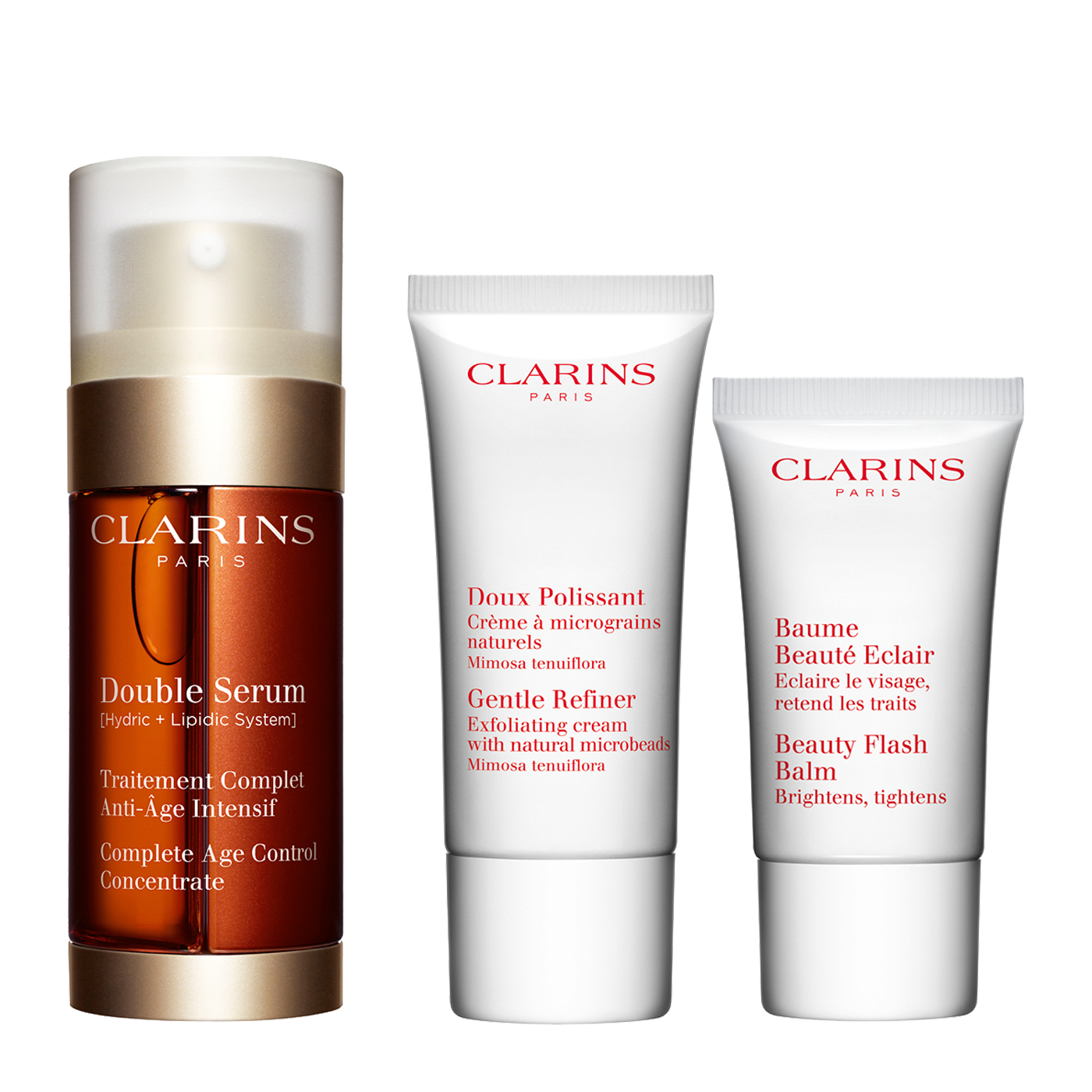value pack loyalty double serum 30ml gift ideas anti ageing clarins. Black Bedroom Furniture Sets. Home Design Ideas