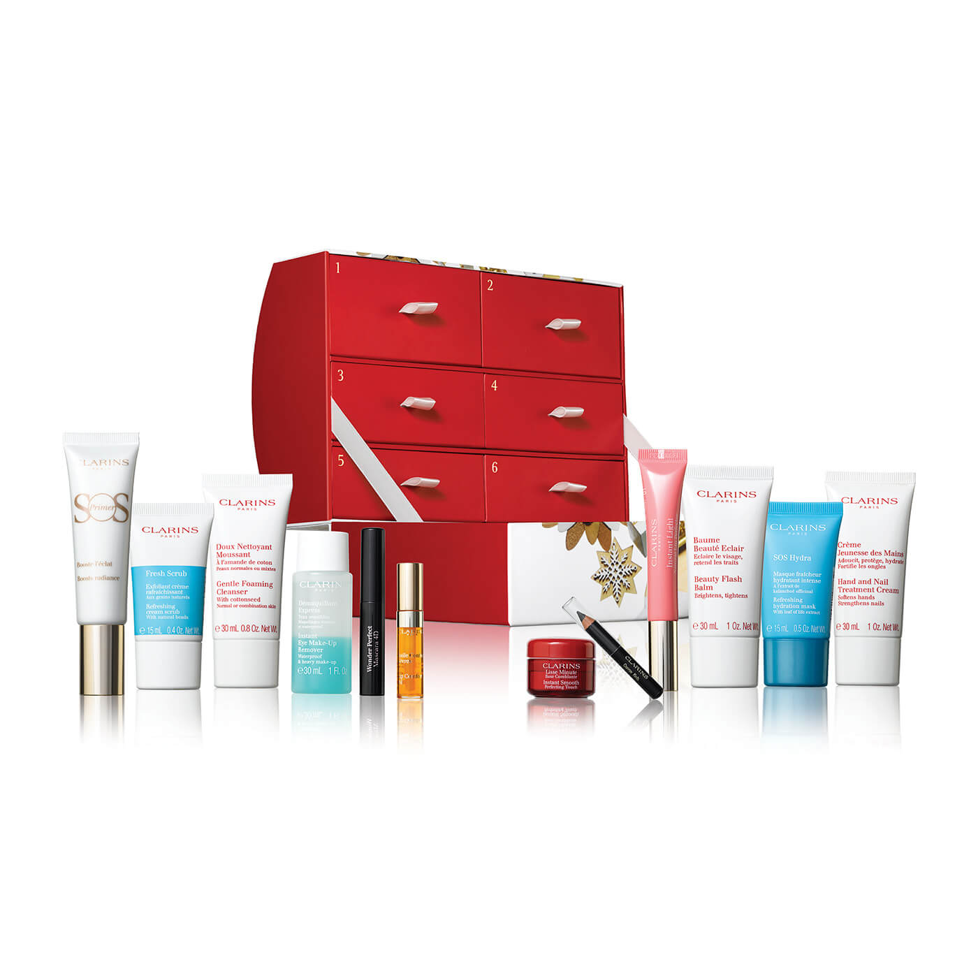 12 Days of Christmas Advent Calendar for Women by Clarins