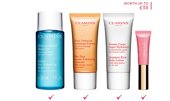 Discover Clarins Special Events and Exclusive Offers in Store and at Clarins Skin Spas. X FREE Hustle & Bustle Survival Kit with any $ order. Code: DAY6 | 6-piece gift FREE with any $ order.