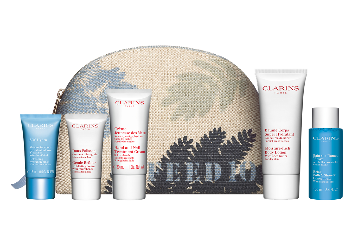 Clarins is your source for all your natural beauty care needs. When you shop Clarins, you're supporting a company dedicated to making the best beauty products using organic, locally-grown, and fair .