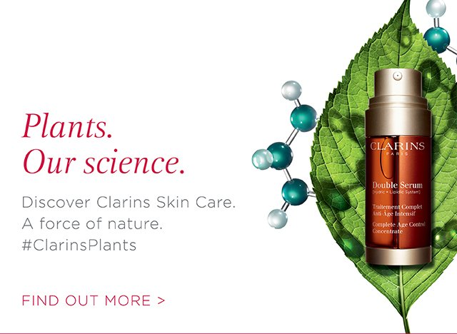 Plants and science Clarins